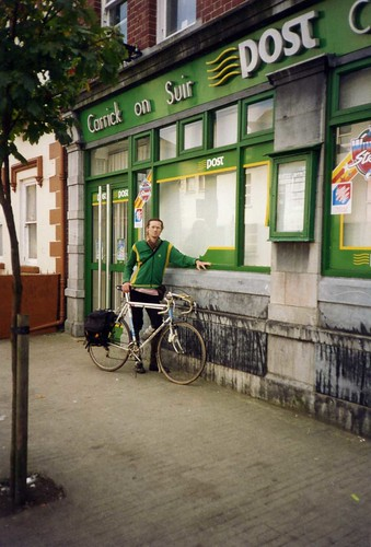 Paying homage to Sean Kelly, Carrick on Suir  1993