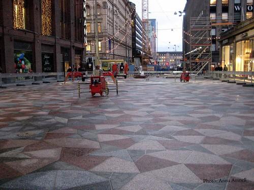 Penrose tiles, Helsinki