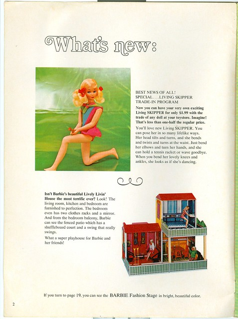 Skipper trade in program barbie lively livin 39 house ads for House trade in program