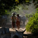 0008 Lady cowherds--Mandalay , Myanmar
