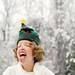 First snowfalls make me giddy... by Theresa Thompson