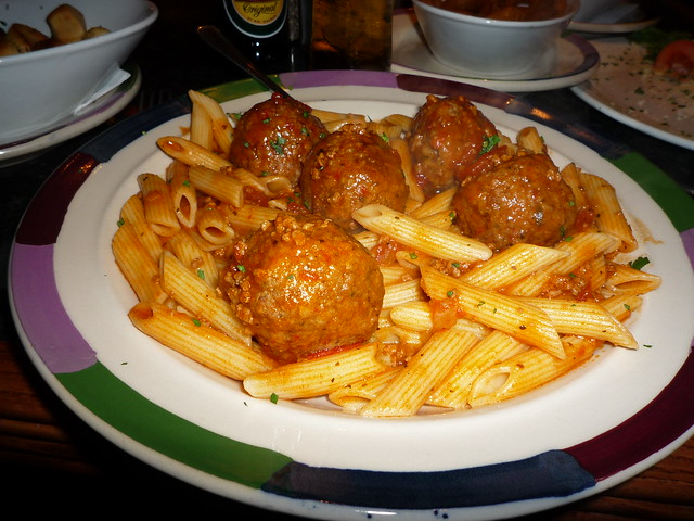 Frankies Meatballs & penne | Flickr - Photo Sharing!
