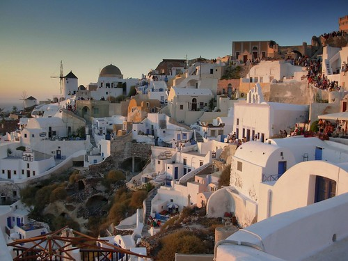 Nightly Event - Oia, Santorini