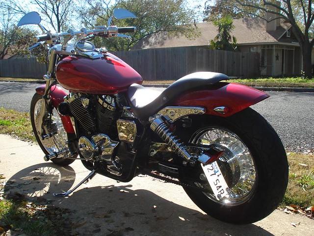 Honda Shadow Spirit 750 Custom Flickr Photo Sharing
