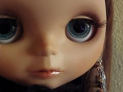 nose, vision care, face, brown, skin, lip, girl, head, eyelash, eyelash extensions, brown hair, close-up, mouth, beauty, black, doll, eye, organ, toy,