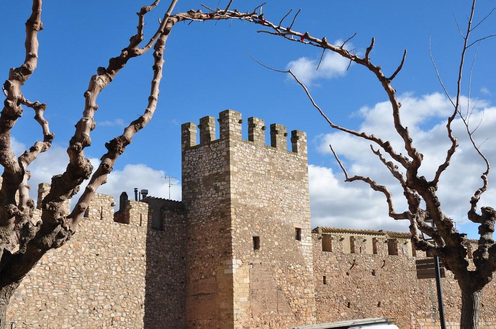Muralles de Montblanc. Imatge: Lluís López Carceller. Llicència Creative Commons Atribució - No comercial - Compartir igual 2.0 Genèrica