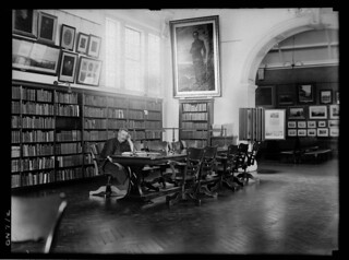 Mitchell Library, Sydney, Dec 1923,by the Daily Mail