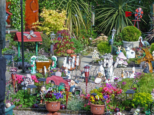 Colourful Garden at Luss