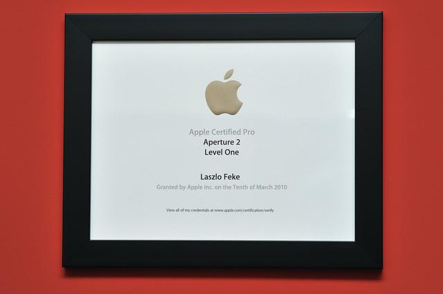 certificate apple flickr