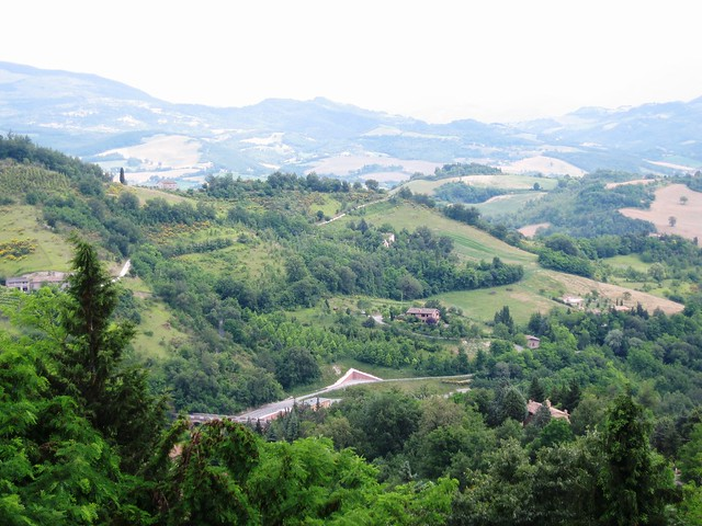 View from Urbino, Italy