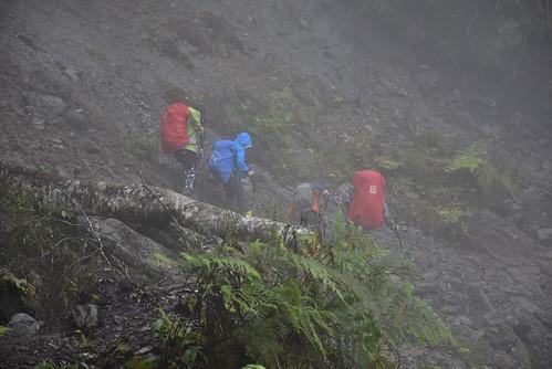 瓦拉米步道-高繞-危險崩塌