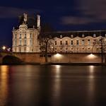 Aile de Flore , Palais du Louvre , Pont Royal