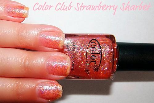 Color Club Strawberry Sharbet