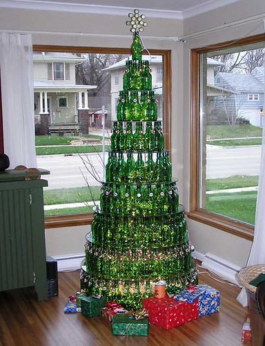 Beer Bottle Tree