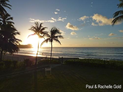 ocean travel sun holiday beach sunrise lumix gold barbados caribbean 2009 accrabeach dmczs3 rachellepaul rpgold
