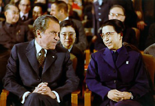Nixon and Jiang Qing