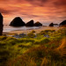 A peaceful evening along the Oregon Coast by MDSimages.com