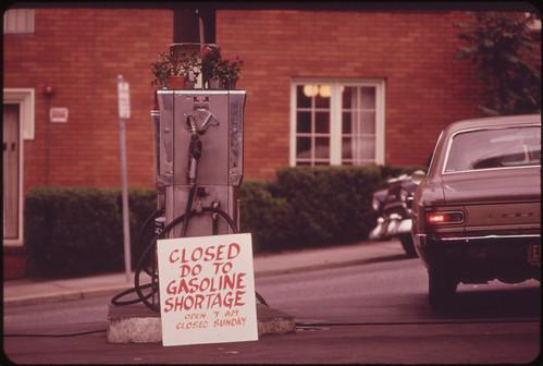 Gasoline Shortage 06/1973