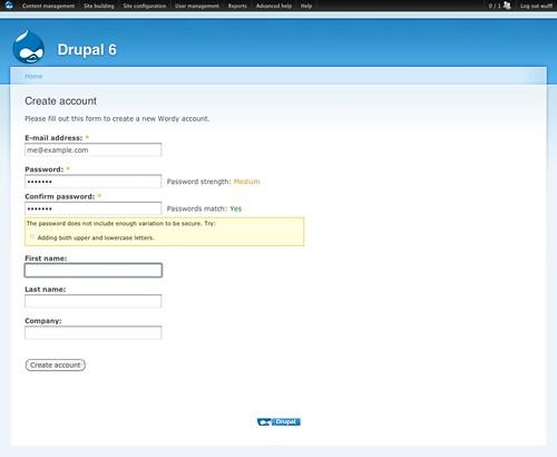 match com create new account