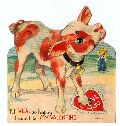 14 Really Bizarre Vintage Valentines Day Cards – Vintage Valentines Card
