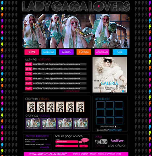 27. Layout Lady Gaga Lovers [FAKE]