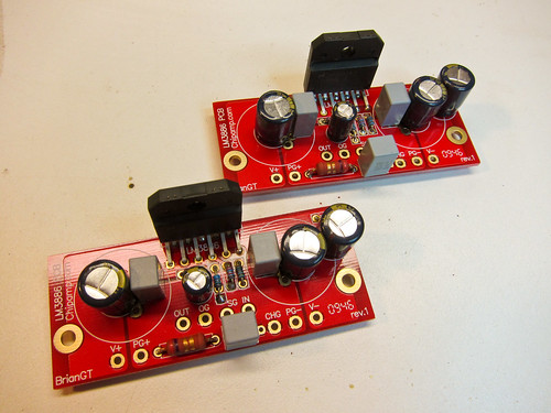 A pair of LM3886s