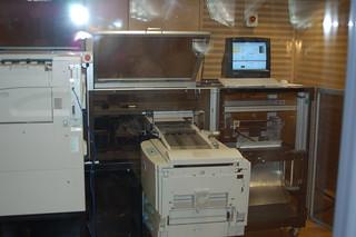 Book Machine from Bibliotheca Alexandrina, Egypt