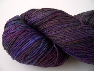 Dream in Color Smooshy - Plum Paisley (Close-up)