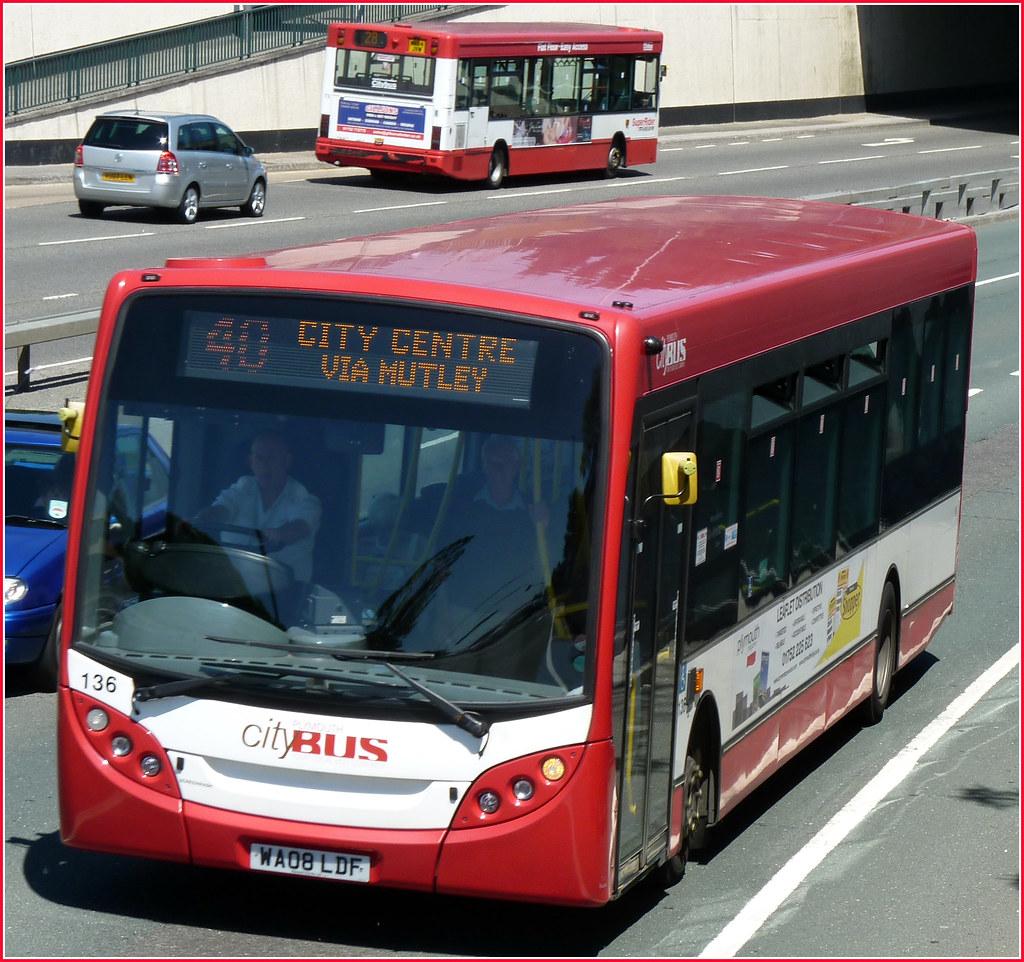 Plymouth Citybus 135 WA08LDF