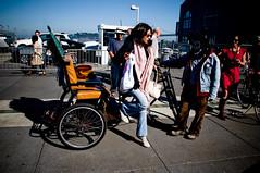 SF Pedicab Disembark