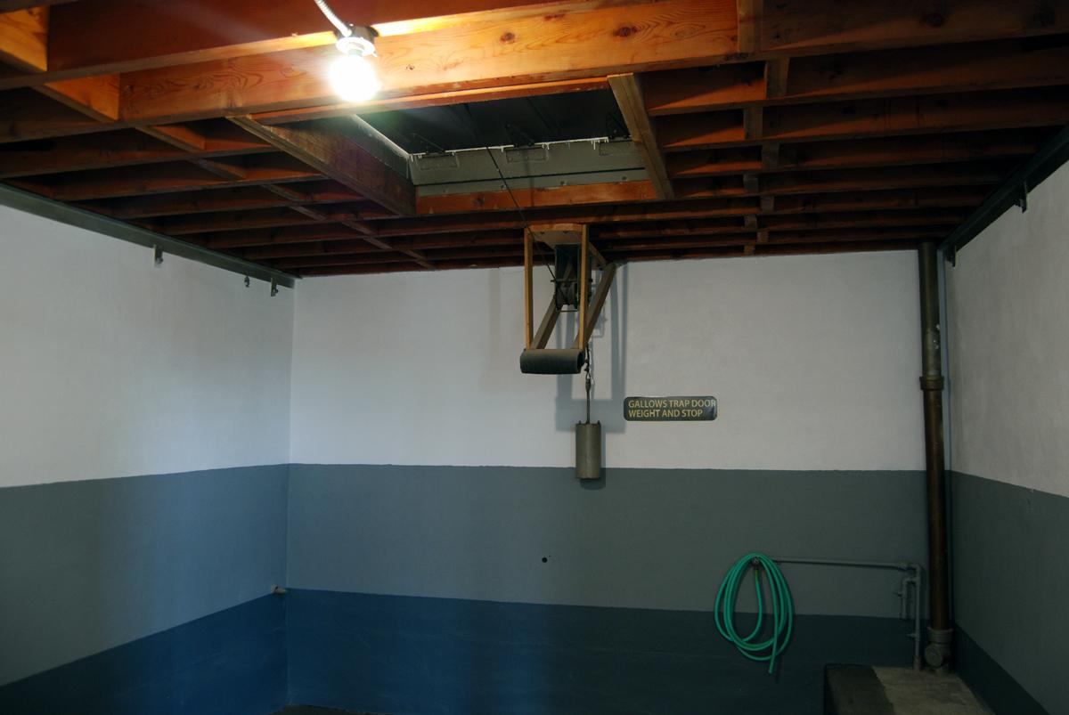 Gallows Trap Door