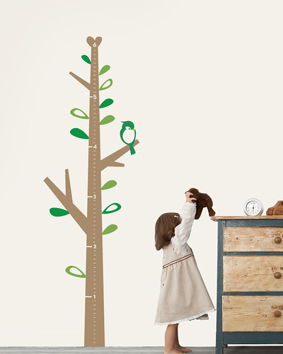 Growth Chart Tree - Children's Vinyl Wall Sticker