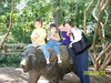 Zoo Picture with Joy and Taylor