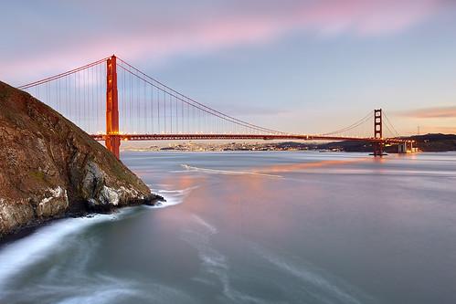 Fishing at the Golden Gate, San Francisco