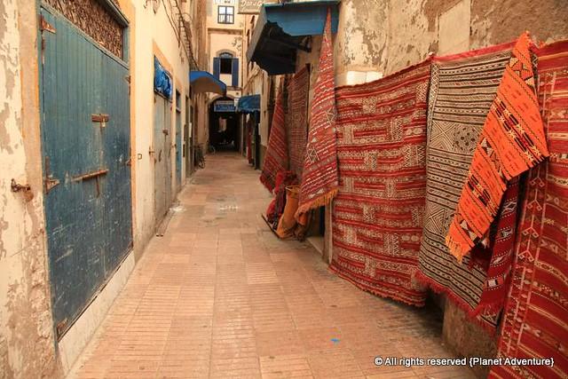 Carpets - Medina - Essaouira - Morocco