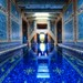 The Azure Blue Indoor Pool at Hearst Castle by Stuck in Customs