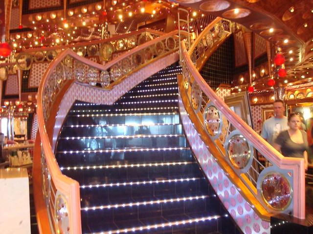 Carnival Splendor Interior Design Atrium Stair Case 2010 104  Flickr  Photo