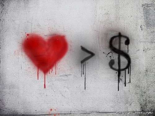 loves > money