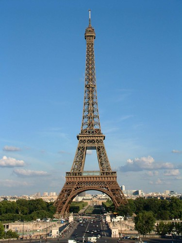 Eiffel Tower by reiver iron