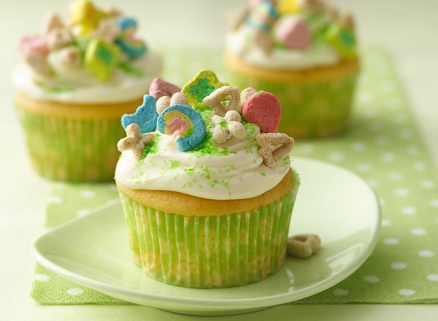 Lucky Charms® Cupcakes Recipe | Flickr - Photo Sharing!