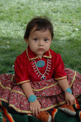 Navajo Girl at Indian Market