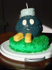 Bob omb cake