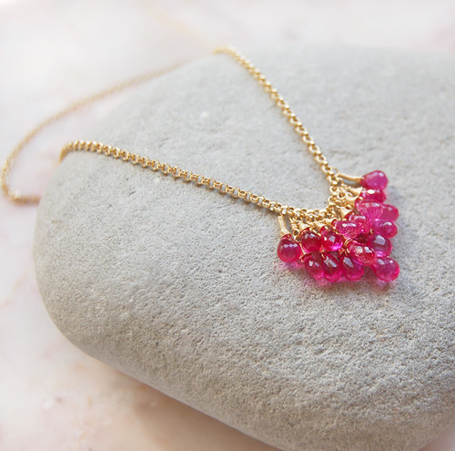 ~ Framboise II Necklace ~ Gold Version