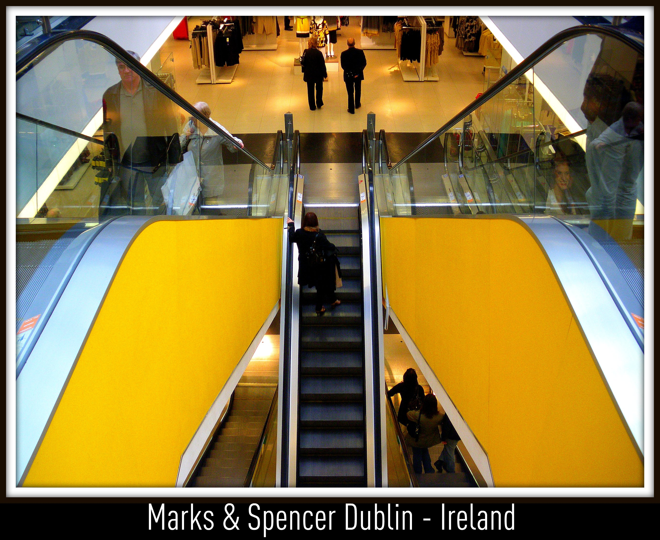 This Is Marks And Spencer At Grafton Street In Dublin Ireland Enjoy The Shopping The Great