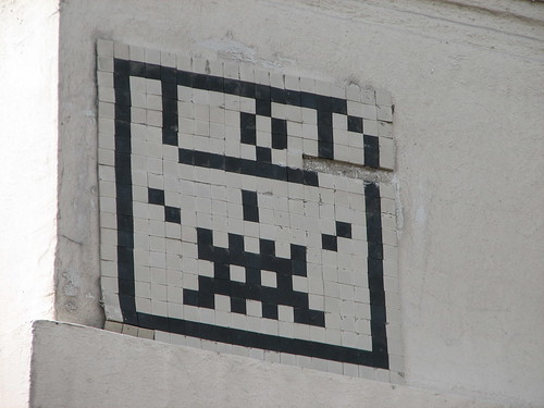 Space Invader PA_427 : Paris 13eme