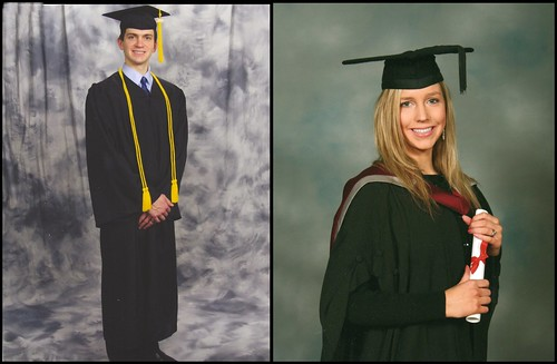Will's and Christina's University Graduation Photos