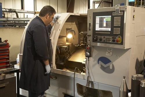 Milltronics CNC Machines SL6 at Standard Tool & Die