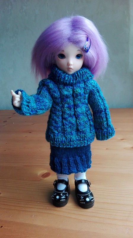 Sisel in Winterwear