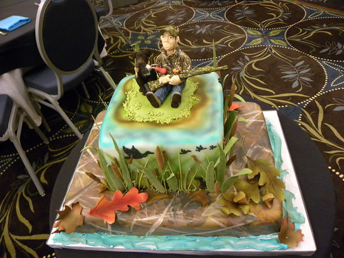 Duck Hunter's Grooms Cake #1