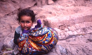 Berber, small girl